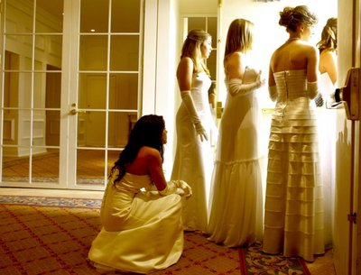"Young debutantes are presented at their ""coming out"" at Bal des Berceaux, a high-society charity event at the Plaza Hotel in Manhattan."