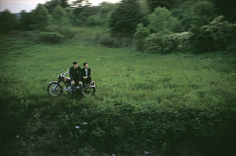 "From Paul Fusco's ""RFK Funeral Train"" project. ©Paul Fusco"