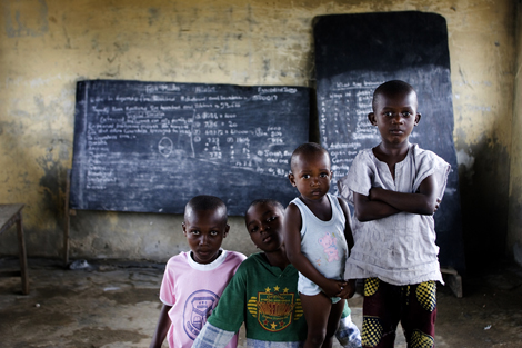 Ikpokiri is a poor community in the oil rich Niger Delta. The only school in this small community lay in ruins due to flooding and lack of care.