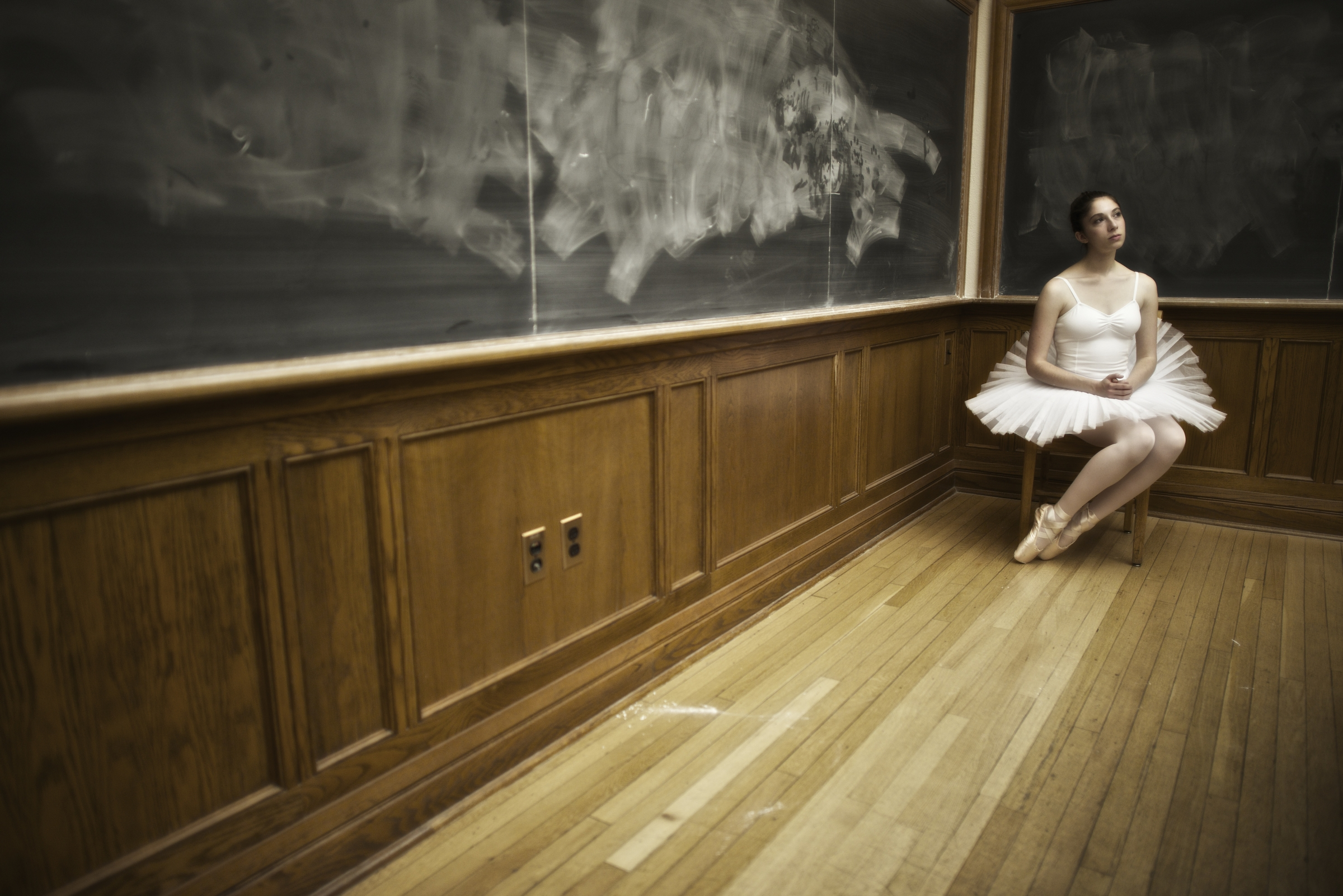 Classical ballerina at Yale