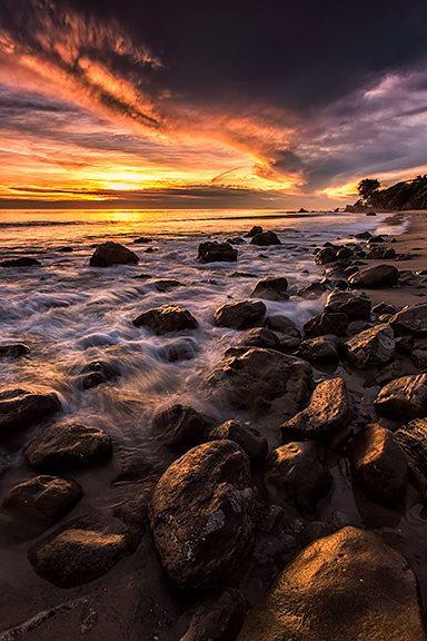 El Pescador Beach, Malibu, California