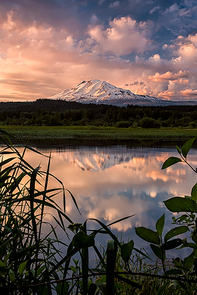 Mt. Adams, Trout Lake, Washington