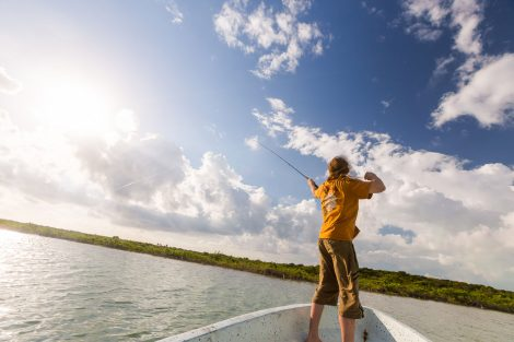 Bone Fishing in Belize off Ambergris Caye, TripAdvisors top island in the world