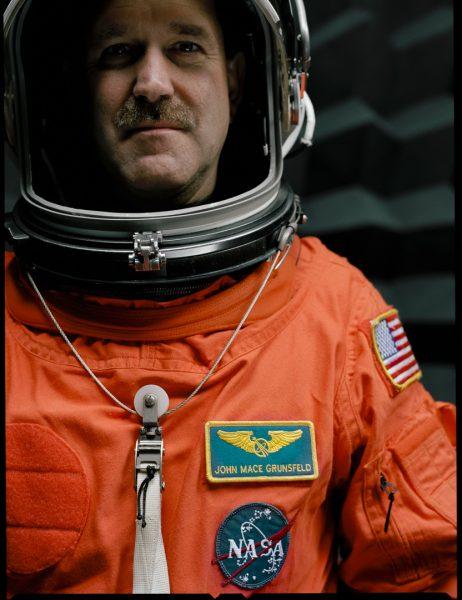 John M. Grunsfeld (Ph. D.) - SM4 Lead EVA Mission Specialist - 5